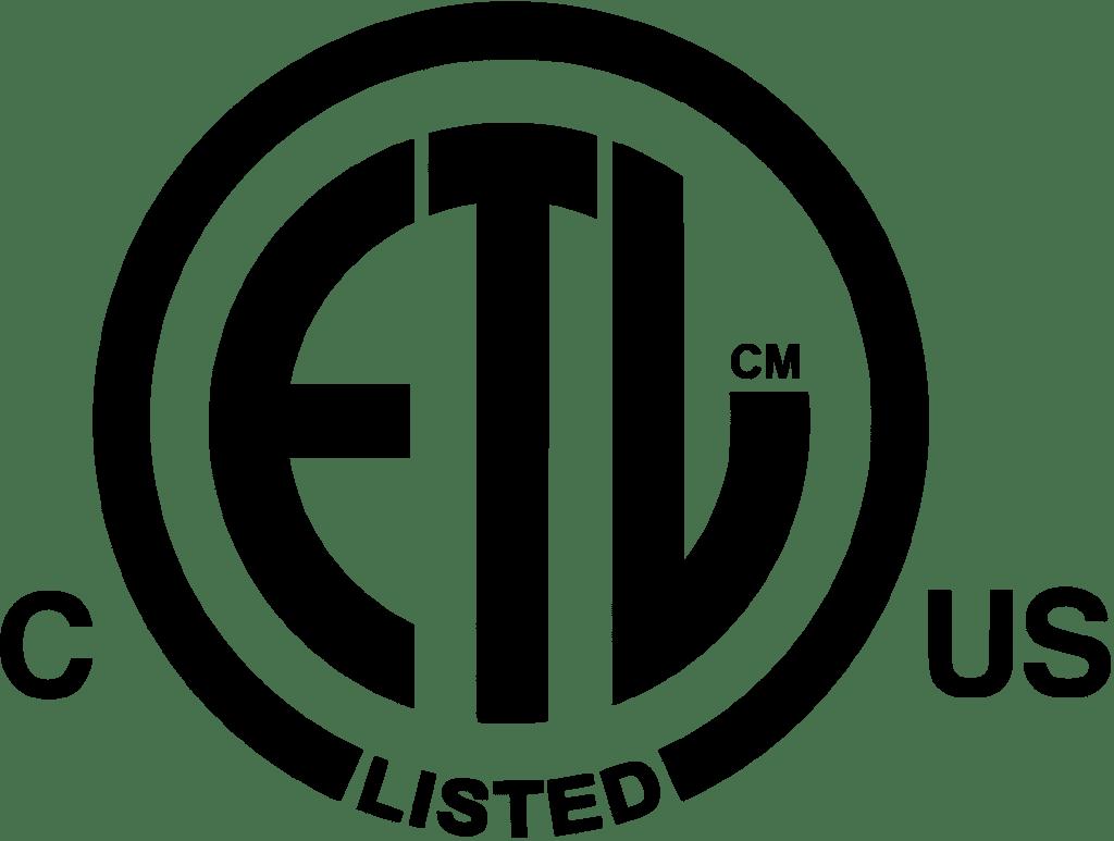 ETL listed logo