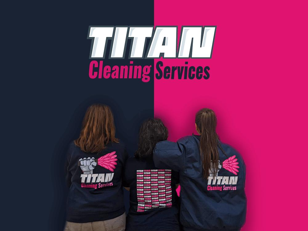 Titan Cleaning personeel